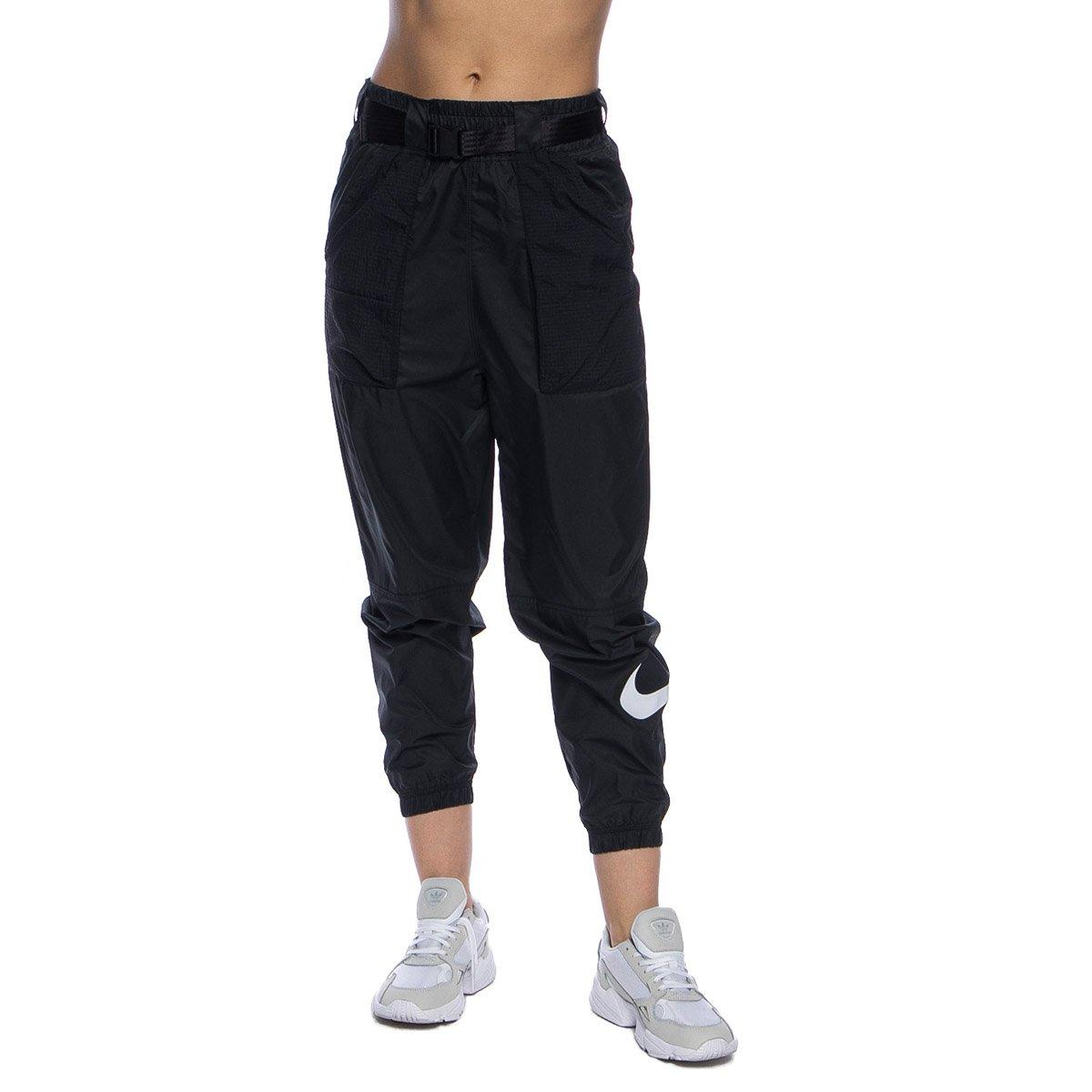 Spodnie damskie Nike NSW Swoosh Pant WVN czarne