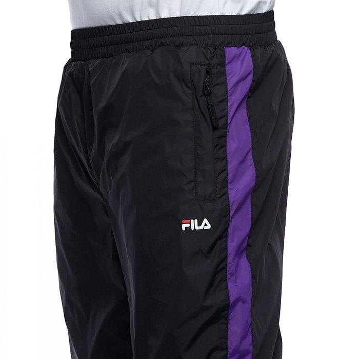 Spodnie dresowe Fila Reign Track Pants black tillandsia purple acid lime