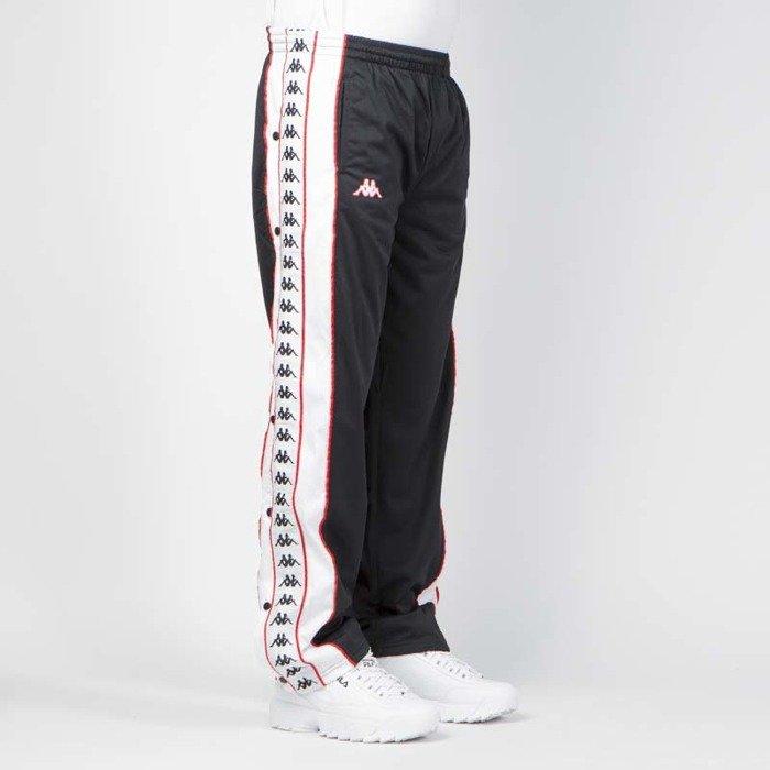 1d0c705f8 ... Spodnie dresowe Kappa Authentic Banda Big Bay black-white-red ...