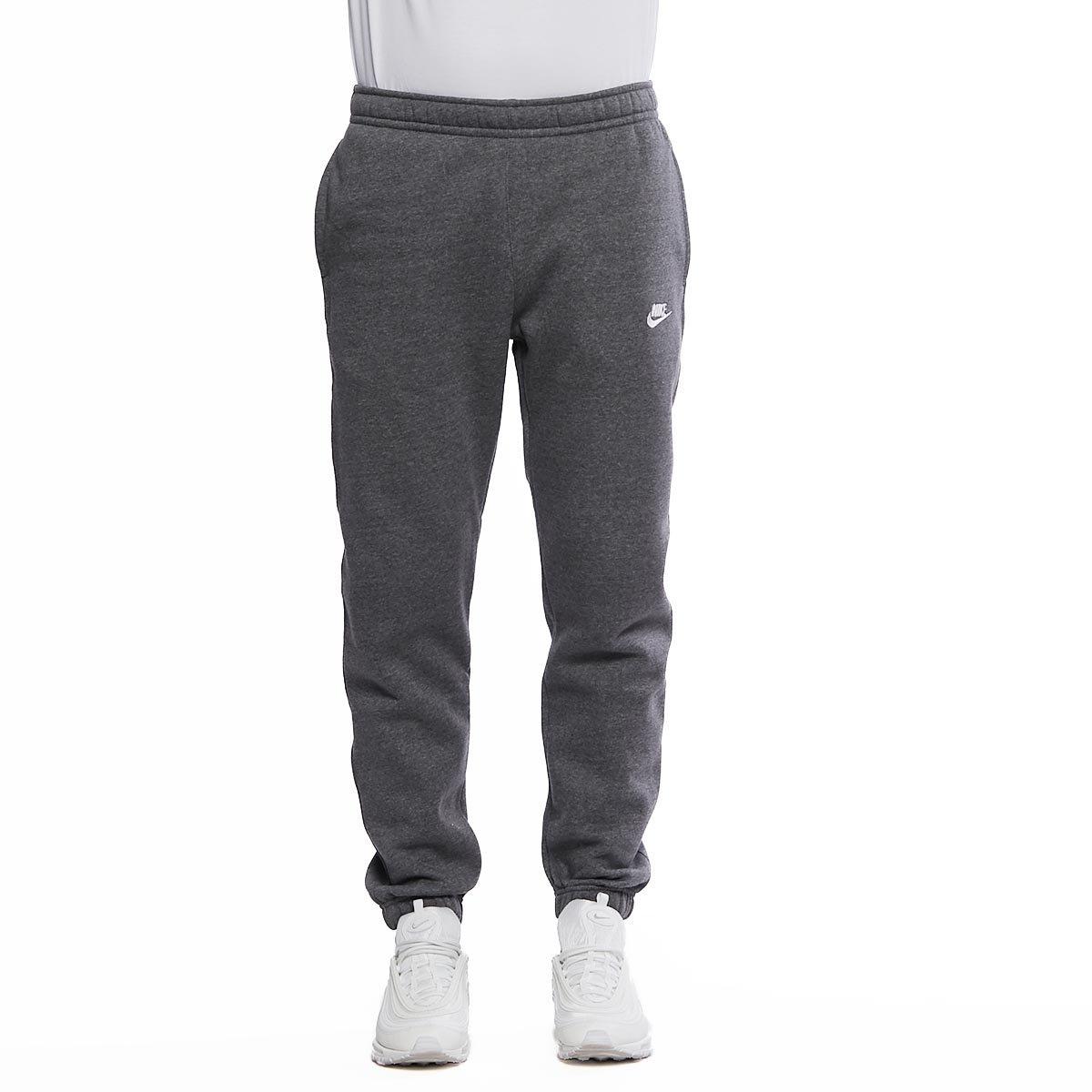 Spodnie dresowe Nike Club Fleece Sweatpants dark grey heather