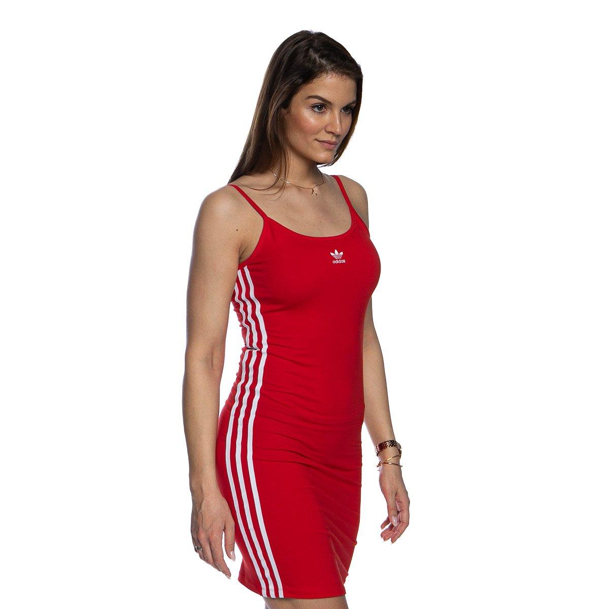 Sukienka Adidas Originals Tank Dress czerwona