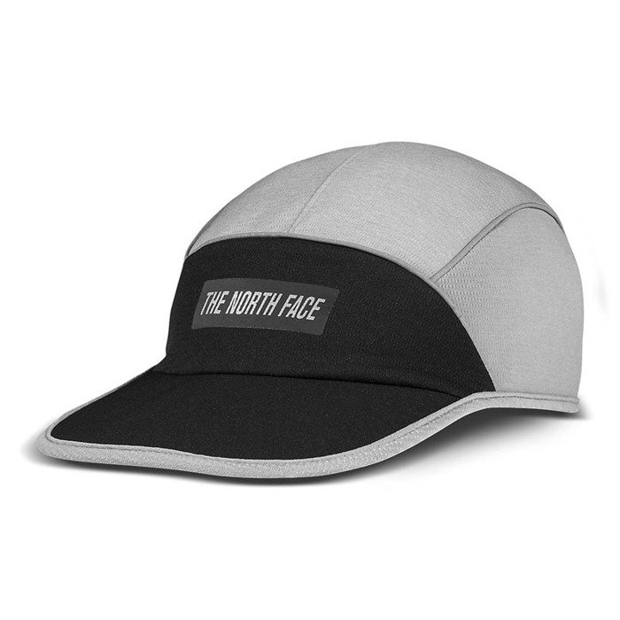 dostać nowe wiele stylów zasznurować The North Face czapka 5-panel Pop-Up Run Hat black / medium grey heather