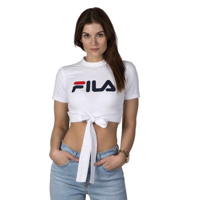 Top damski Fila Women Chiara Halterneck Top bright white