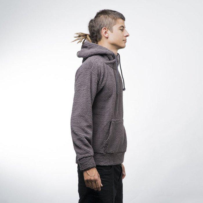 ... Urban Classics bluza Sherpa High Neck Hoody dark grey (TB1401) ... fa0c82576fa9d