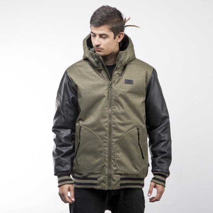 2f2bcfcb80824 ... Vans kurtka jacket Rutherford II khaki / black (VN0A2WGJKEK) ...
