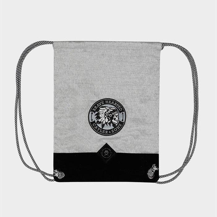 ... Worek Cayler   Sons Copper Label Brave Gymbag grey heather ... 8ccc1812711