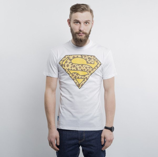 Addict koszulka Superman Leopard white