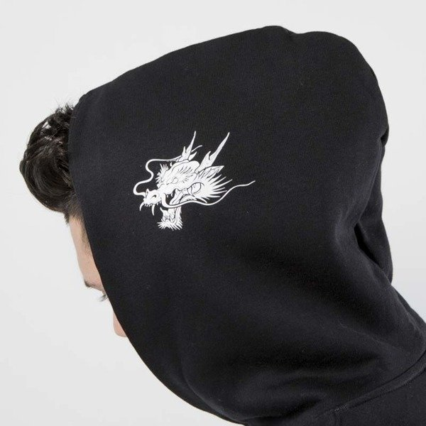 Admirable bluza hoodie Dragon 2 black