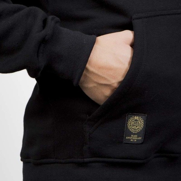 Bluza Mass Denim Golden Mic Hoody black 20TH ANNIVERSARY
