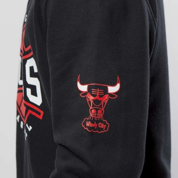 Bluza Mitchell & Ness Chicago Bulls Crewneck black Ball In Play