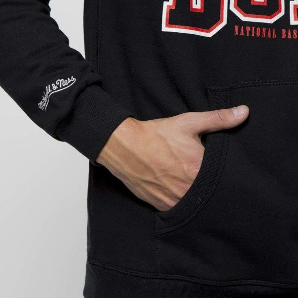 Bluza Mitchell & Ness Chicago Bulls Hoody black Technical Foul Hoody