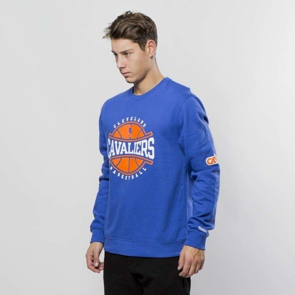 Bluza Mitchell & Ness Cleveland Cavaliers Crewneck royal Ball In Play