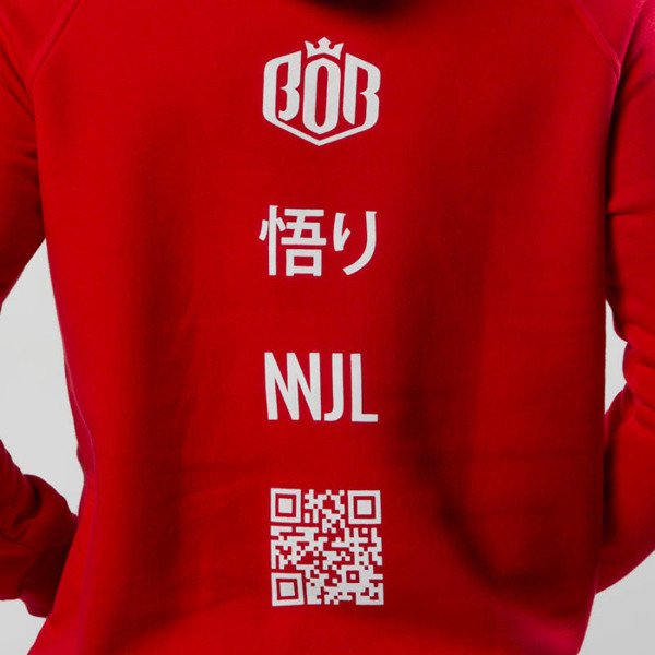 Bluza NNJL Classic Hoodie red