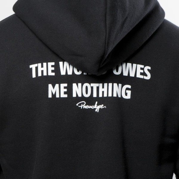 Bluza Phenotype sweatshirt Statement Hoodie black