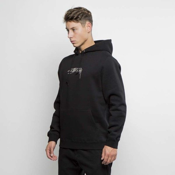 Bluza Stussy sweatshirt Smooth Stock App Hood black FW17
