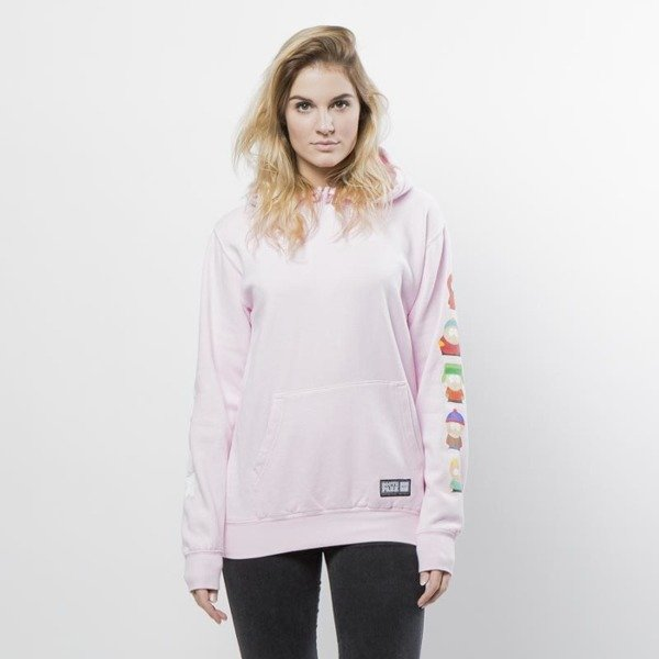 Bluza damska HUF SP Kids Hoodie WMNS pink  SOUTH PARK EDITION