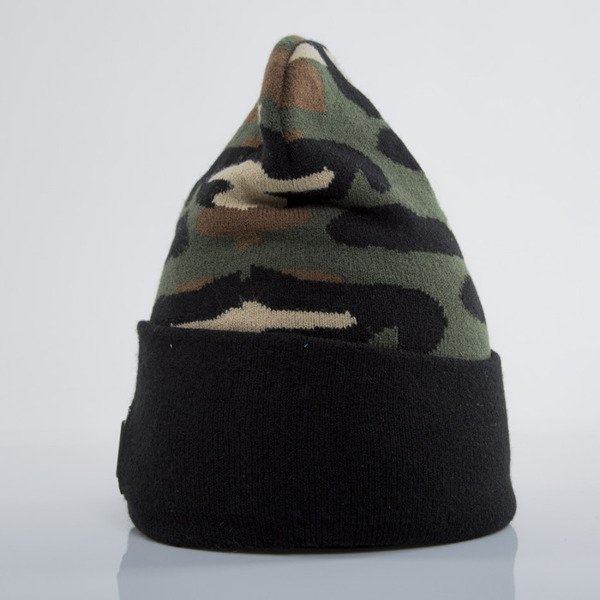 Cayler & Sons Black Label czapka zimowa Plated Old School Beanie woodland / black (BL-CAY-AW15-BN-02-02-OS)