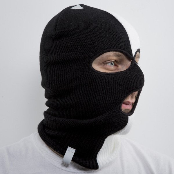 "Cayler & Sons Black Label czapka zimowa ""kominiarka"" Tres Slick Ski Mask black / white (BL-CAY-AW15-SM-01-OS)"