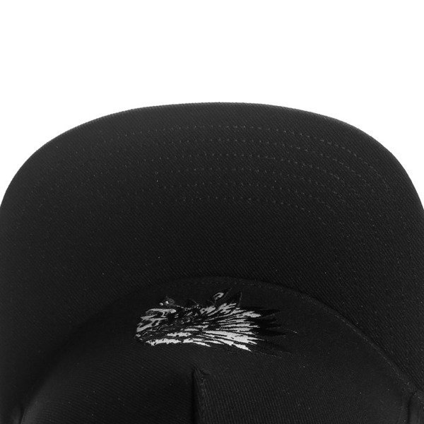 Cayler & Sons Black Label snapback czapka Chief Cap black / white BL-CAY-AW16-06