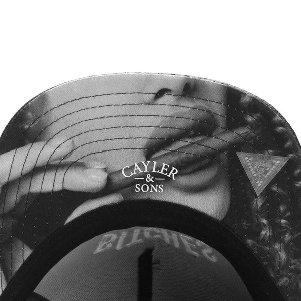 Cayler & Sons Green Label snapback czapka B&M Cap black / white GL-CAY-SU16-04