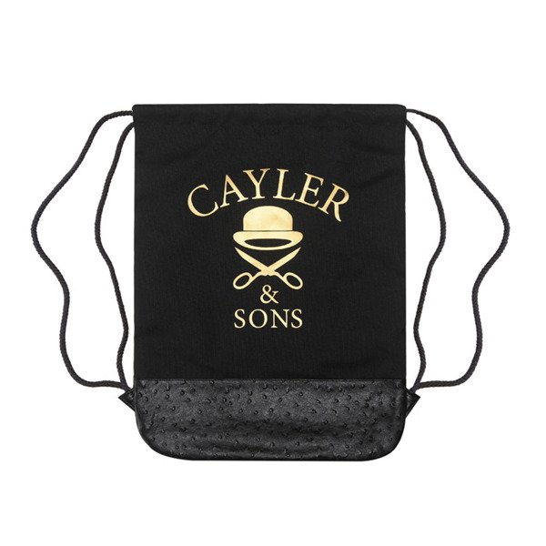 Cayler & Sons Green Label worek Sticky Icky Gymbag black / mahagony / mc (GL-CAY-SS16-GB-03)