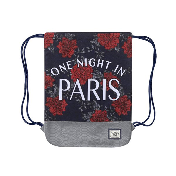 Cayler & Sons White Label worek One Night Gymbag navy / red / white (WL-CAY-SS16-GB-10)