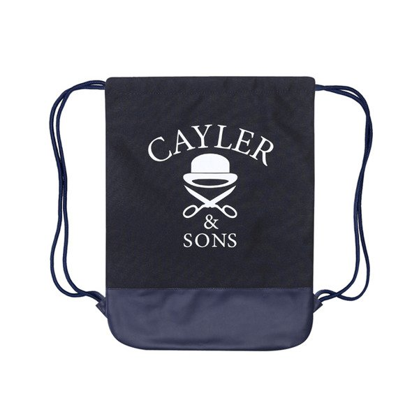 Cayler & Sons White Label worek Rainmaker Gymbag navy / mc (WL-CAY-SS16-GB-08)