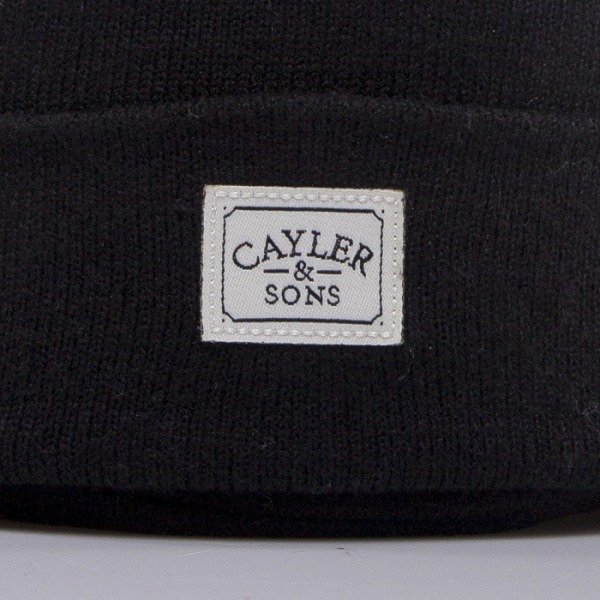 Cayler & Sons czapka No.1 black / white