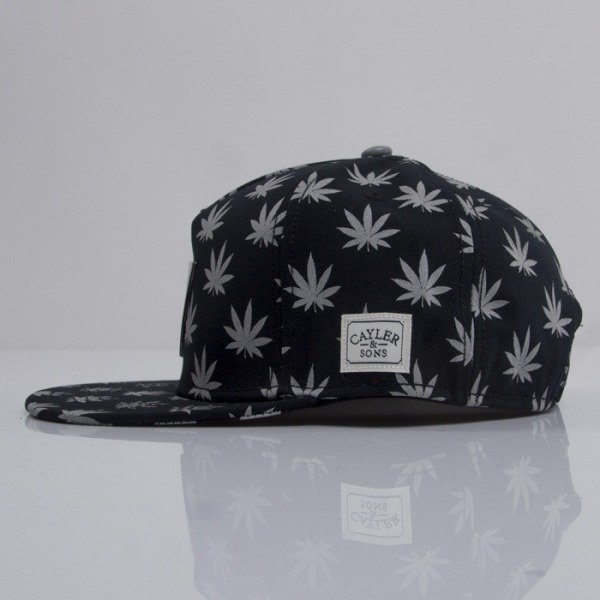 Cayler & Sons czapka snapback Budz n Stripes Reflect 2-Tone black / reflective
