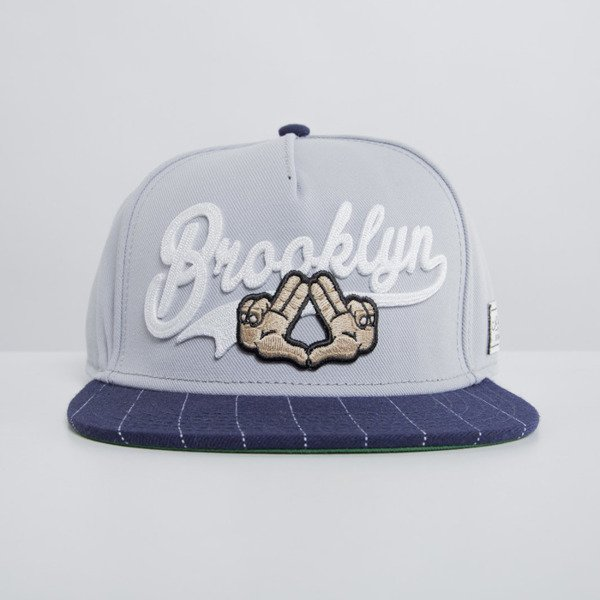 Cayler & Sons czapka snapback Good Fellaz grey / navy WL-CAY-HD15-04