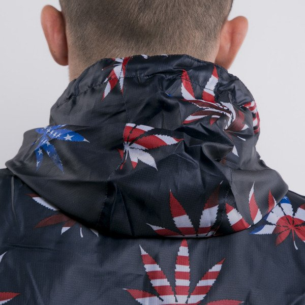 Cayler & Sons kurtka Best Budz Allower Windbreaker navy / red / flags (GL-CAY-AW15-AP-03)
