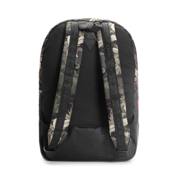 Cayler & Sons plecak BKNY Uptown Backpack black / woodland flowers WL-CAY-AW16-BP-03