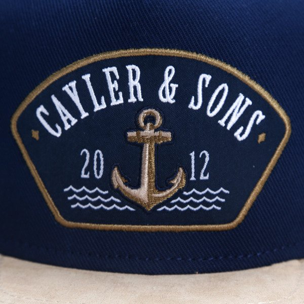Cayler & Sons snapback czapka Ahoi Cap navy / gold / white CL-CAY-AW16-02