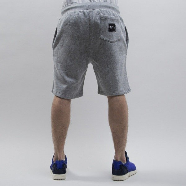 Cayler & Sons szorty  No.1 Sweatshorts grey heather / white / black (CAY-SS15-AP-58-01)