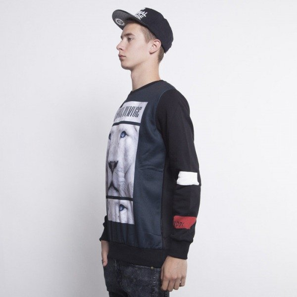 Criminal Damage bluza Leo Crewneck black