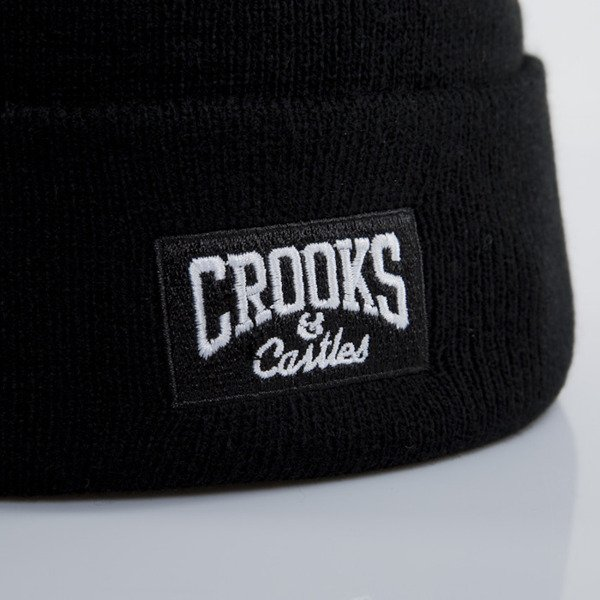 Crooks & Castles czapka zimowa Core Logo black