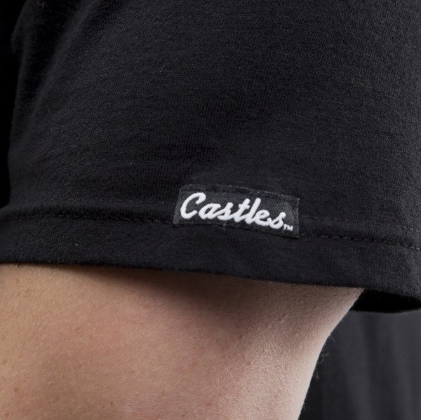 Crooks & Castles koszulka Core Logo Snake black