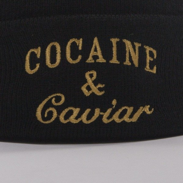 Crooks and Castle czapka zimowa Squad black / gold
