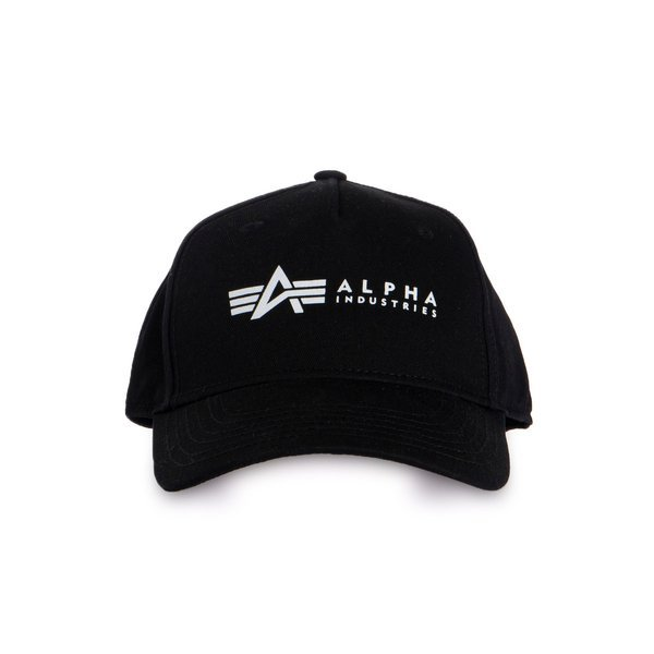 Czapka Alpha Industries Alpha Cap czarna