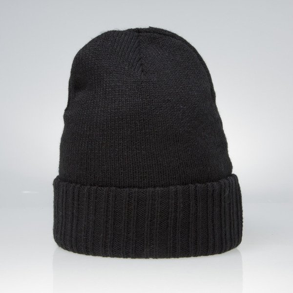 Czapka Cayler & Sons BLACK LABEL Patched Beanie black / black BL-CAY-AW15-BN-01