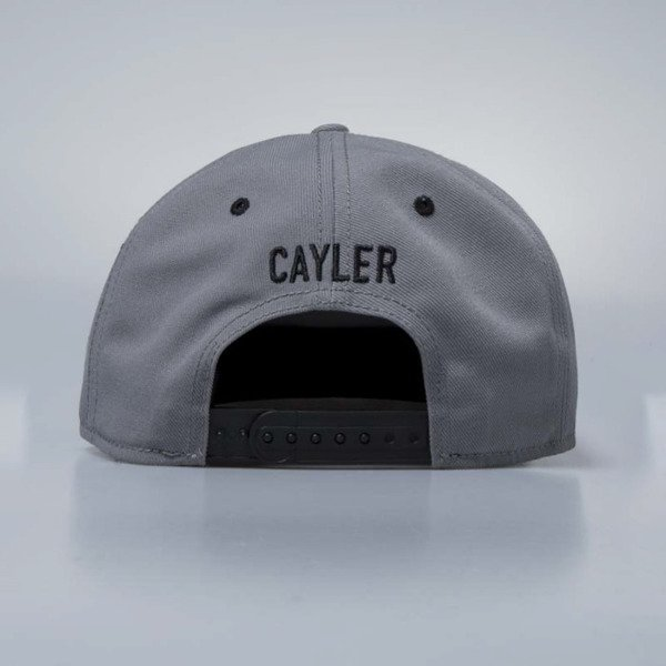 Czapka Cayler & Sons White Label Bigasso Cap grey / multicolor / black