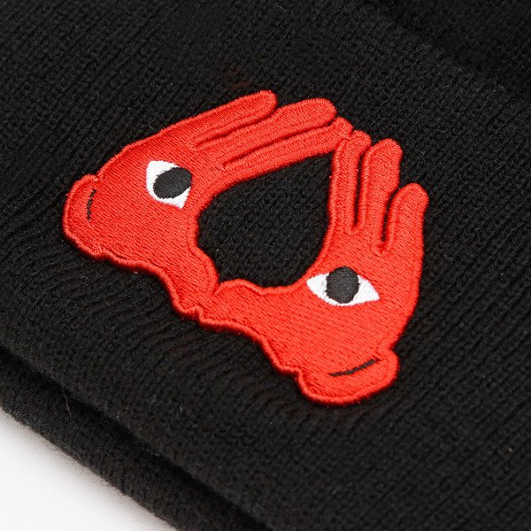 Czapka Cayler & Sons White Label In The House Old School Beanie black
