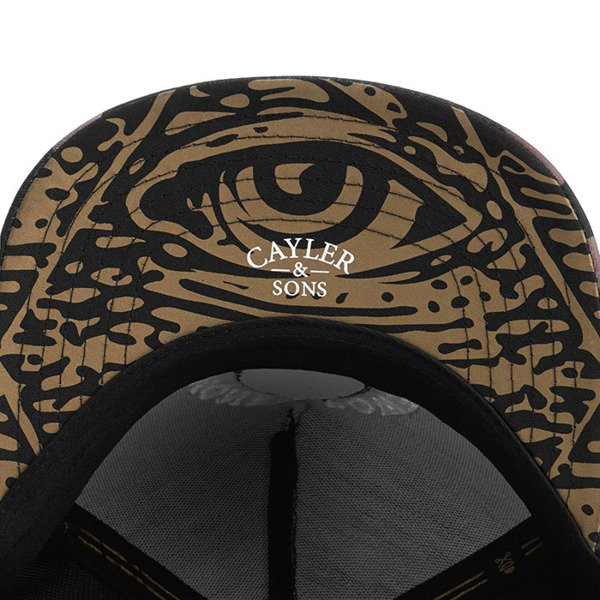 Czapka Cayler & Sons White Label Money Power Respect Cap black / gold / white