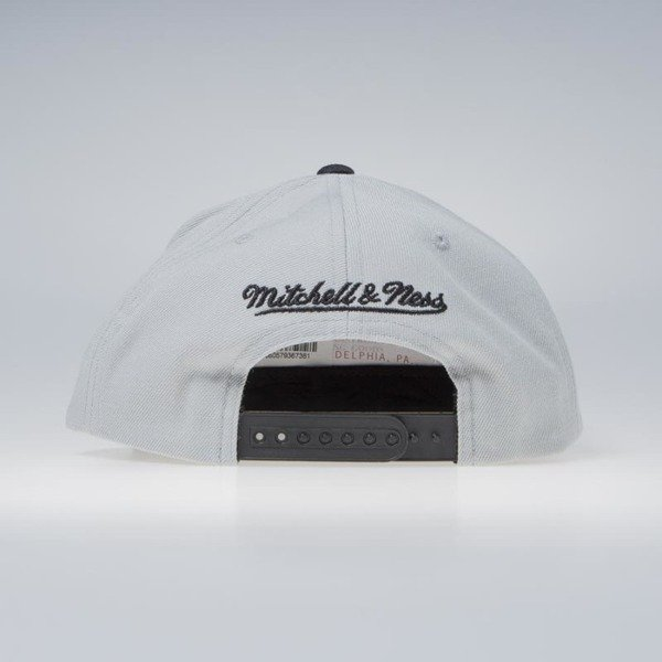 Czapka Mitchell & Ness Brooklyn Nets Snapback Cap grey NBA Cropped XL Snapback