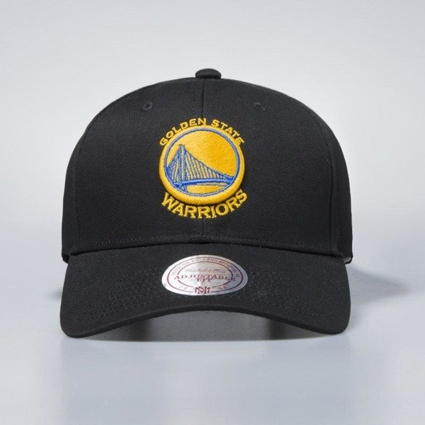 Czapka Mitchell & Ness snapback Golden State Warriors black Team Logo Low Pro
