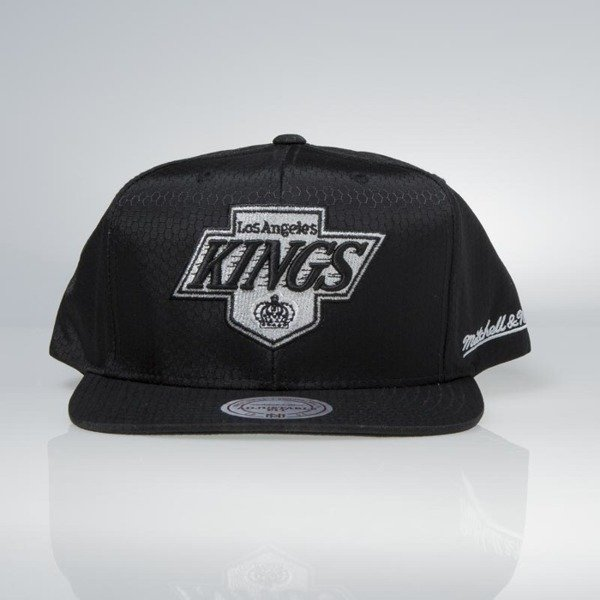 Czapka Mitchell & Ness snapback Los Angeles Kings black Black Ripstop Honeycomb