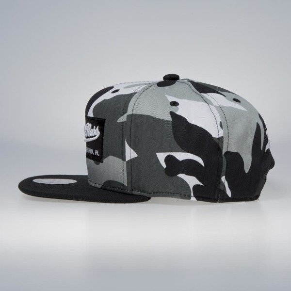 Czapka Mitchell & Ness snapback M&N Own Brand urban camo / black Box Logo