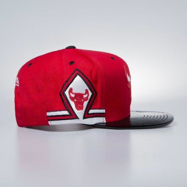 Czapka Mitchell & Ness snapbeck Chicago Bulls red Red Hok 11