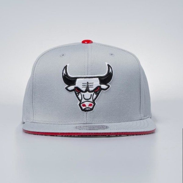 Czapka Mitchell & Ness strapback Chicago Bulls grey Katrina 3 Pop Color