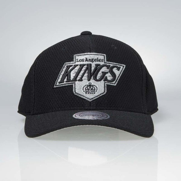 Czapka Mitchell & Ness strapback Los Angeles Kings black Hexagon Jersey Mesh Hook and Loop